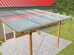 How to Install Renshade Screens Under a Polycarbonate Pergola Diy Pergola, Pergola With Roof, Pergola Ideas, Steep Backyard, Backyard Patio, Pergola Designs, Patio Design, Wall Sheets, Roof Installation