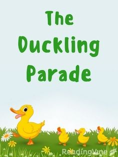 The Duckling Parade - Free, printable reading comprehension activity with a passage and questions for K - 2nd grade!