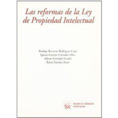 G 0-41/357 - Las reformas de la Ley de Propiedad Intelectual.