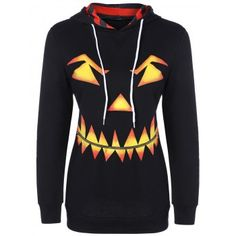 SHARE & Get it FREE | Pumpkin Head Drawstring Halloween HoodieFor Fashion Lovers only:80,000+ Items·FREE SHIPPING Join Dresslily: Get YOUR $50 NOW!