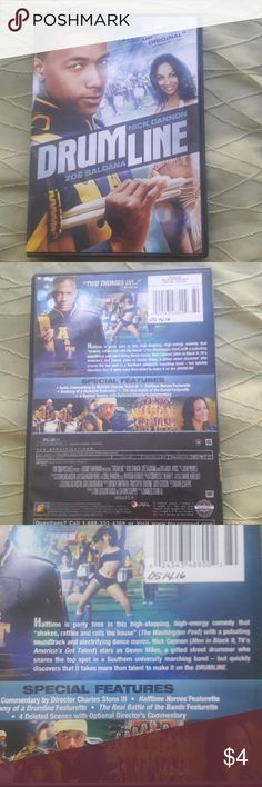 Drumline DVD Drumline DVD Starring Nick Cannon Zoe Saldana NTSC FORMAT  Used with minor surface wear  *Please inquire or comment. Thanks Other