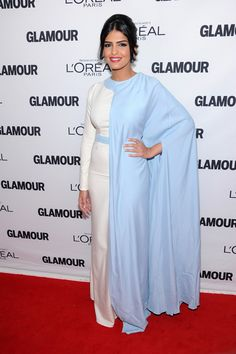 Totally covered, completely graceful. Princess Ameera al Taweel @ the glamour-23rd-annual-women-of-the-year-awards