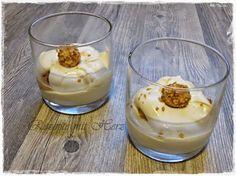 ...leckeres, schnell zubereitetes Dessert. Herrlich mit der leichten Zitrusnote Zutaten 250 g Mascarpone 300 g Naturjoghurt 60 g Zucker 35 g frischen Zitronensaft 200 g Sahne Giotto Kugeln Zubereitu