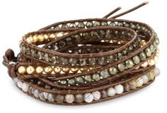 Chan Luu Brown Semi Precious Stones with Fresh Water Pearls on Leather Bracelet Chan Luu,http://www.amazon.com/dp/B005LU2T1M/ref=cm_sw_r_pi_dp_0zWOrb38A0C744B5