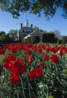 Colonial Williamsburg Gardens, Virginia