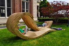 Bench by Columbia school of architecture