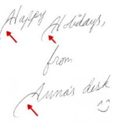 The Secrets of Handwriting analysis - What does your handwriting say about you?