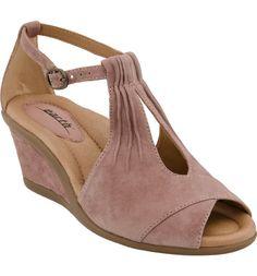 7ed9cf3678fe Main Image - Earth®  Caper  T-Strap Wedge Sandal (Women)