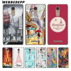 Eiffel Painting Of Paris phone case Xiaomi Mi6 5S 5X A1 Redmi 4X 4A 5A 5 Plus 4 3 Pro 3S Notr 4 3 Pro 2