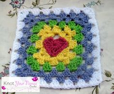 Knot Your Nana's Crochet: Granny Square CAL (week one)