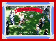Puddle Wonderful Learning: Harry Potter Party: Quidditch Game