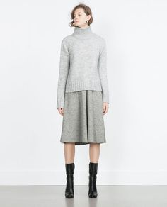 Image 1 of SWEATER WITH TURTLE NECK from Zara
