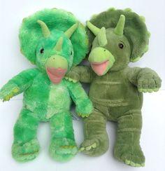 Build A Bear Lot Of 2 Dinosaur Stuffed Animals