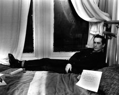 Michael McClure by Harry Redl (1950s)