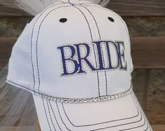Custom Bling Baseball Mom Hats and other custom by CapsbyKari