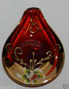 Italain Art Glass, Handpainted! $9.99 + Shipping!