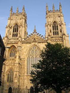York Minster, Yorkshire England This place is HUGE and takes all day to tour!  Loved my trip there!