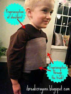 I Break Crayons | little hands. BIG FUN.: Easy Low-Budget DIY Sensory Vest