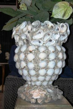 oyster shell urn