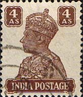 India 1940 King George VI Fine Used SG 273 Scott 176 Other Asian and British Commonwealth Stamps HERE!