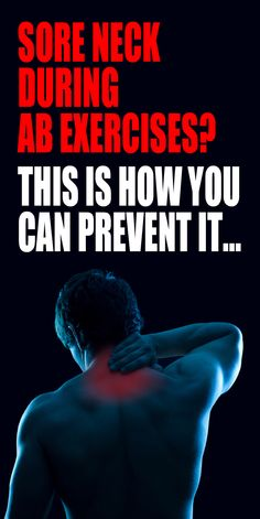 .Watch this quick video to learn the best methods for preventing neck pain and injury as well as some modifications to other core exercises that will alleviate stress on your neck. #abworkout #coreworkout #crunches #planks