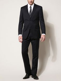 Men's dark suit on my list