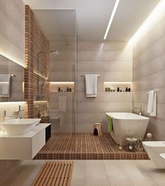 "26.9 mil Me gusta, 167 comentarios - Interior Design & Decor (@homeadore) en Instagram: ""Modern Bathroom Inspiration """