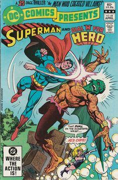 "DC Comics Presents Vol. 5 No. 44  1982  Superman and Dial ""H"" for Hero by TheSamAntics"