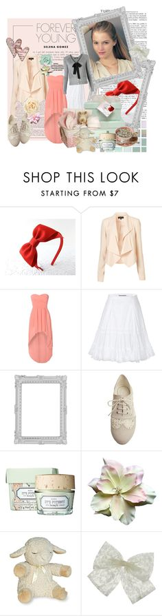 """""""forever young"""" by nursabrina-aulia ❤ liked on Polyvore featuring Rare London, Ermanno Scervino, Paperchase, Pixie, Dahlia, Benefit, Cloud B, Miss Selfridge and MANGO"""