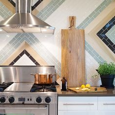 """Leslee Mitchell on Instagram: """"Kitchen love. Design by @missionstonetile. See more of my interior portfolio here: #lminteriorspaces."""""""
