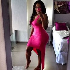 Thick In Pink Dress