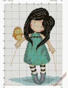 Image result for gorjuss cross stitch patterns