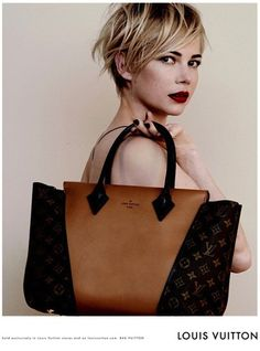 michelle williams for louis vuitton...stunning...