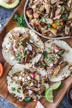 Pork carnitas in the slow cooker are seriously easy and delicious. We love making this pulled pork carnitas recipe for taco night! #spendwithpennies #carnitas #pork #porkcarnitas #carnitasrecipe #classiccarnitas #mexican #slowcookercarnitas Slow Cooker Carnitas, Pork Carnitas Recipe, Slow Cooker Pork, Slow Cooker Recipes, Cooking Recipes, Healthy Recipes, Slow Cooking, Cookbook Recipes, Crockpot Recipes