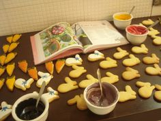 Cookies em produção.  www.maebacana.com.br