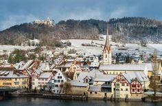 Von Diessenhofen nach Stein am Rheim Nicht immer unterkühlt | Schweizer Familie