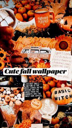 Cute fall wallpaper so cute ☺️