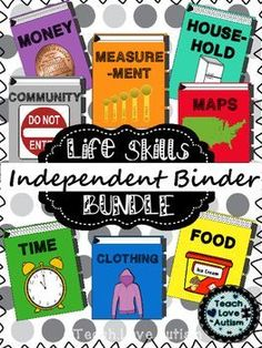 THIS IS A GROWING BUNDLE! THREE of nine units have been posted. Please click on this link to see a Time Video Product Preview! This resource is going to be HUGE! It is going to contain 9+ sets of activities (at least 60 pages a piece! Totaling over 540+ pages) all around different types of categories of life skills that students of all ages need to know!