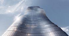 Beyonce's Curves Inspire Elenberg Fraser's Design for Melbourne Tower,© Elenberg Fraser