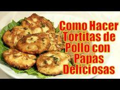 Tortitas de Pollo con Papas Deliciosas | Casayfamiliatv