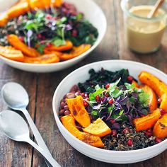 AUTUMN BOUNTY BOWL   Autumn is my favorite season for cooking. The drop in temperature and darker…