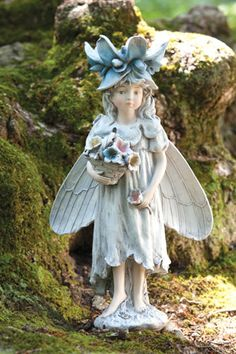 Merveilleux New Creative Darling Forest Fairies Bountiful Fairy Statue