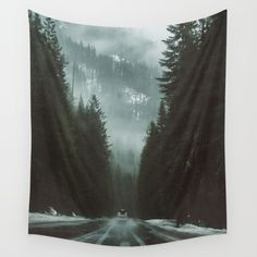 Wanderlust Is In My Blood Wall Tapestry. #landscape #nature #photography #love