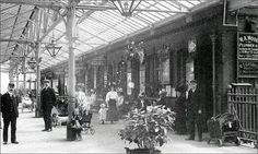 1910 Crossgates Station Leeds from Leeds Back in the Day Back In Time, Back In The Day, Old Pictures, Old Photos, Leeds England, West Yorkshire, British History, Days Out, Vintage Photography