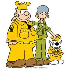I loved Beetle Bailey! I remember I drew all the characters in my sketch book as a kid