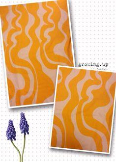 70s swedish designer vintage fabric Sven Fristedt. by Inspiria, $32.00