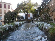 Fuentes de las Canales heladas (Letur - Albacete)