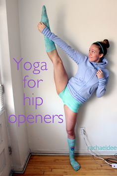For tight hips after sitting all day | Back On Pointe - rachaeldee: Yoga for hip openers