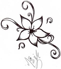 How To Draw Flowers Step By Step With Pictures - Beautiful Flowers ...