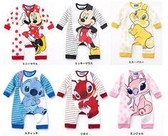 Newest Baby Toddler Boys Girls Disney Michey Minnie Stitch Angel Bunny Outfit | eBay
